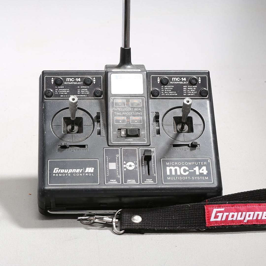 Graupner-Graupner JR mc-14 + 15